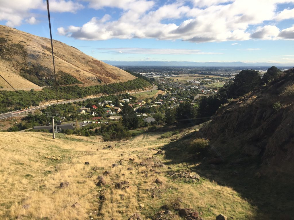 View from Christchurch Gondola