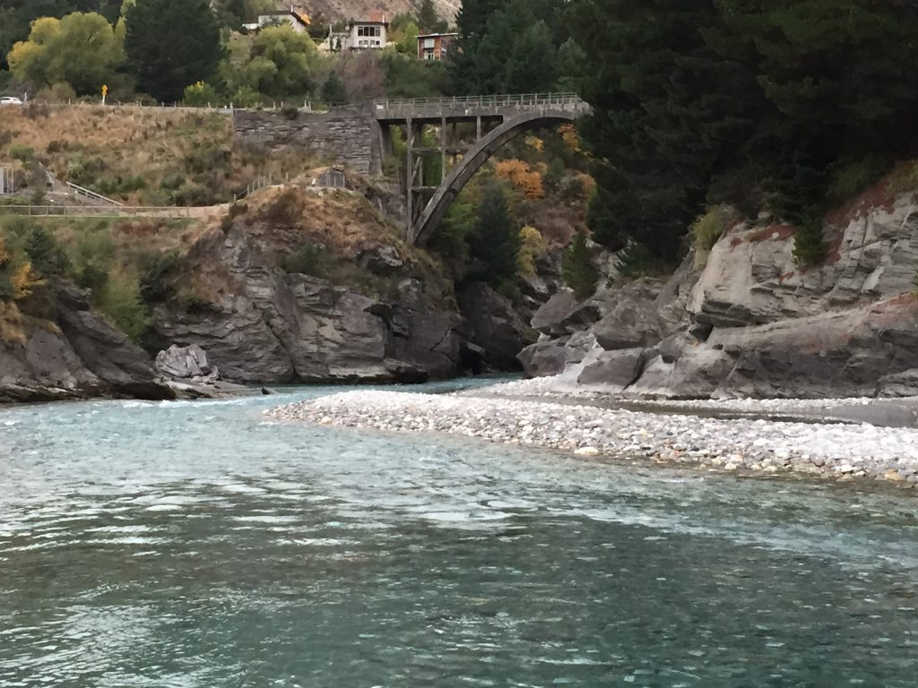 Shotover River at Arthurs Point