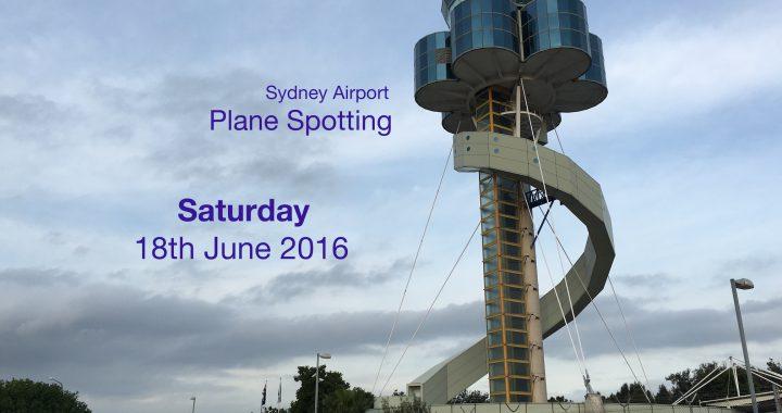 Sydney Plane Spotting 28 June 2016
