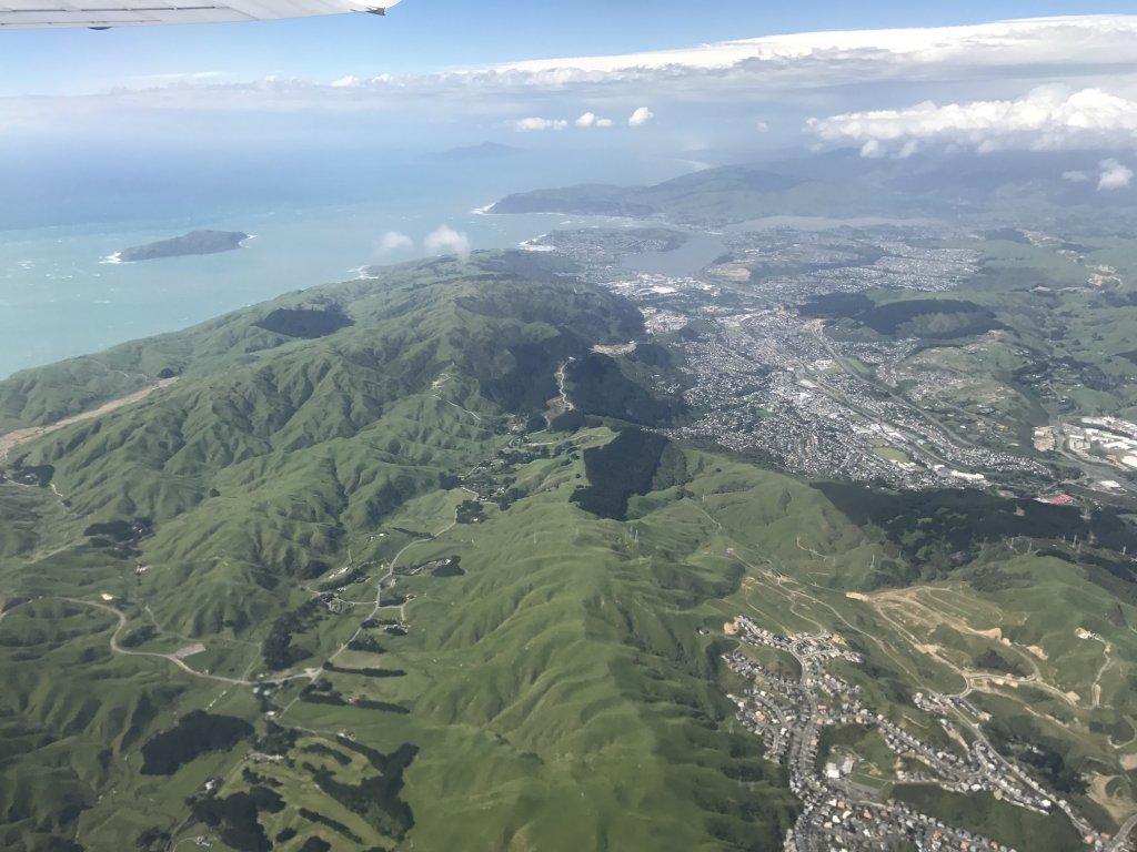 Wellington Aerial Shot
