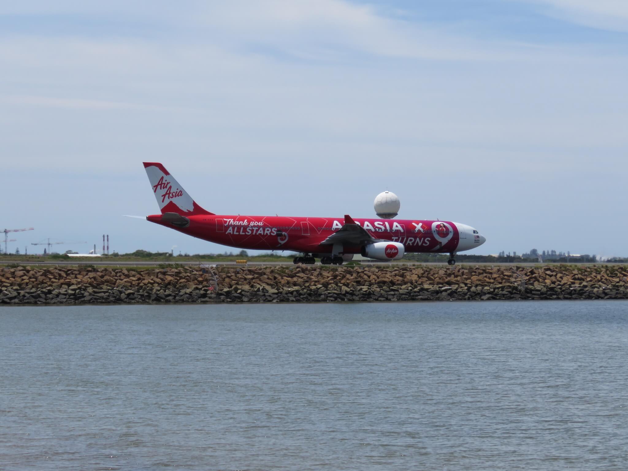 9M-XXA – A330-343 – AirAsia X (Air Asia X Turns 9 Livery