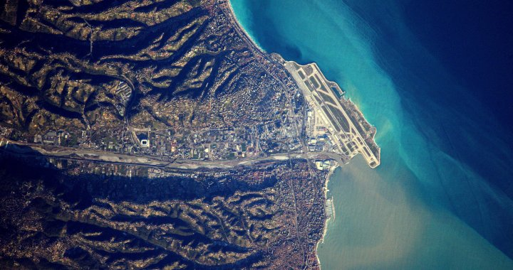 Airports from Space