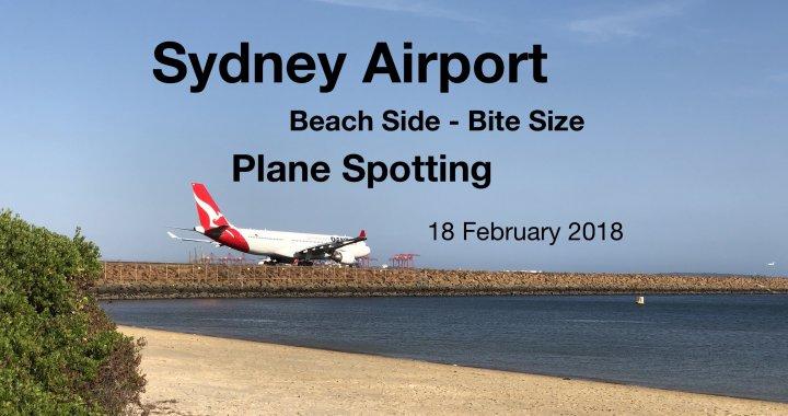 Plane Spotting 18 February 2018