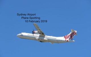 Sydney Plane Spotting 10 February 2019