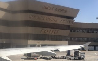 Take off from Manila Ninoy Aquino International Airport (MNL)