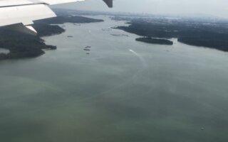 Landing RWY20C @ Changi Airport