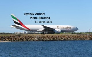 Sydney Plane Spotting 14 June 2020