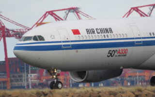 Air China's 50th A330