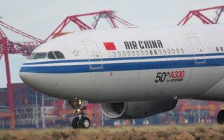 Air China's 50th A330