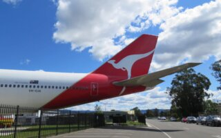 Photos of Qantas VH-OJA at HARS